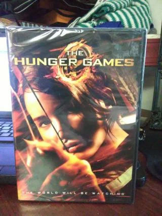 BRAND NEW The Hunger Games DVD