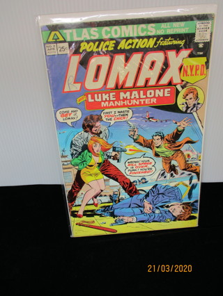 POLICE ACTION featuring LOMAX NO.2