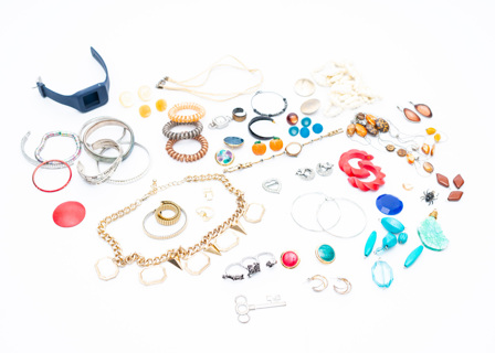 AND YET ONE MORE!!! 1+ Pounds of Costume Jewelry Findings Destash DIY!
