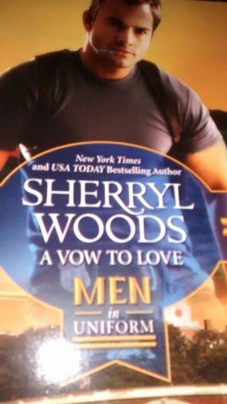 A vow to love men in uniform Harlequinn book