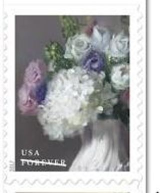 Used USA Stamp Flowers