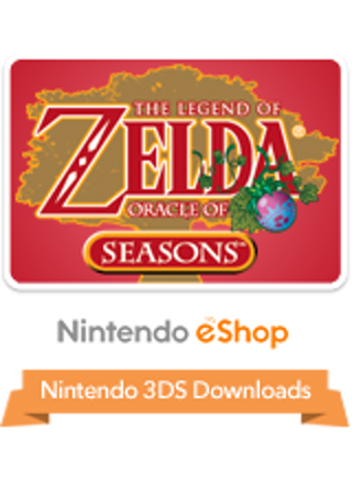 Free: The Legend of Zelda: Oracle of Seasons 3DS eShop Code