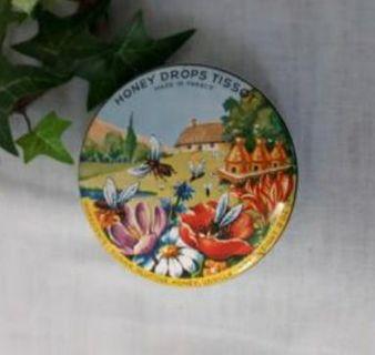 Honey Drops Tissot TIN, from FRANCE, VINTAGE