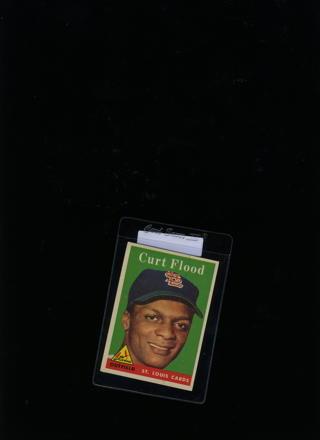 1958 Curt Flood  baseball card
