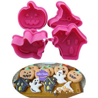 Biscuit Baking Tools Cookies Cutter Fondant Cake Decor Ghost Pumpkin Hat Mold