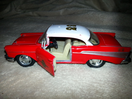 Free 1957 Chevrolet Bel Air By Kinsmart Jeep 4x4 By Mattel Cars