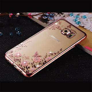 Rhinestones Soft TPU Cases For Samsung Galaxy Note8 J330 J530 J730 A3 A5 2017 Case for Samsung Gal