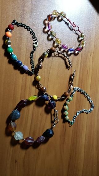 Bundle of 5 Handmade Bracelets