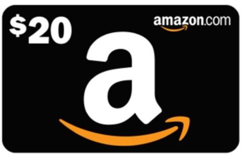Amazon $20 gift voucher
