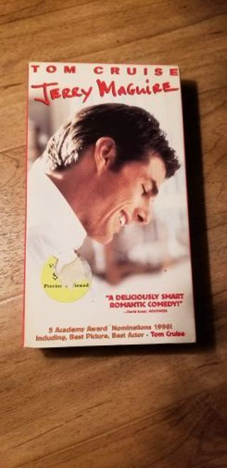 Jerry Maguire VHS