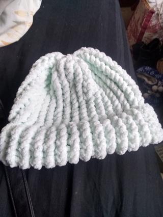 Beautiful warm baby hat