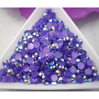Grape Soda Purple AB 4mm Rhinestones Approx 50 Pieces Nail art