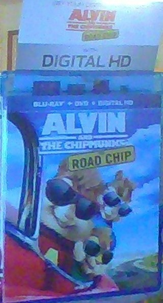 alvin and the chipmunks road chip  DIGITAL HD