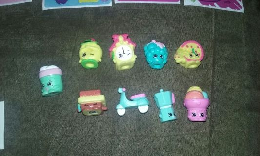 SHOPKINS LOT( NEW OPENED DOUBLE SHOPKINS((SHIPPING AFTER CHRISTMAS )