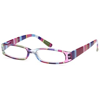 GAMMA RAY Ladies Slim Colorful Reading Glasses - Strength is 1.50