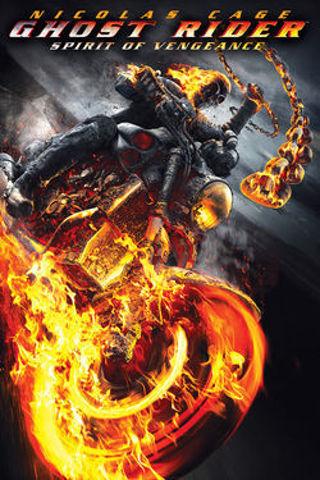 GHOST RIDER - SPIRIT OF VENGEANCE - HD - MA or VUDU movie code