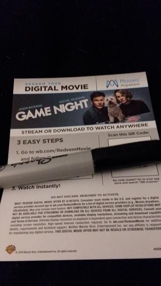 GAME NIGHT DIGITAL HD