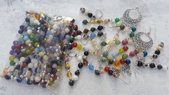 BEAD SOUP & 10 PAIR OF EARRINGS☆☆☆FREE SHIPPING