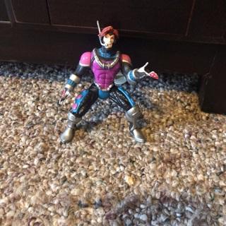 1996 X-Men Gambit Action Figure