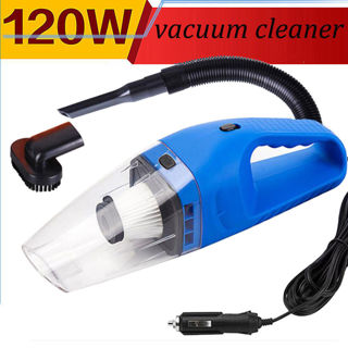 Portable Handheld Car Vacuum Cleaner Super Suction 12V/120W Auto Cleaning Tool