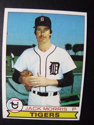 1979 TOPPS BASEBALL NRMT CARD - NO 251 - JACK MORRIS - TIGERS