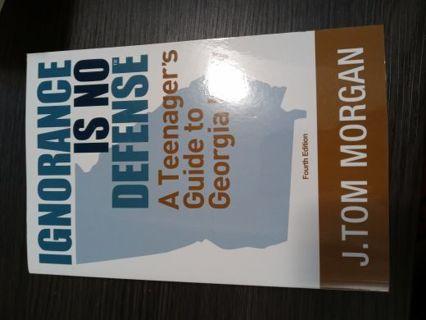 Ignorance is No Defense Book