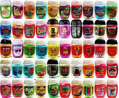 Bath and Body Works Pocketbac hand sanitizers Tiered GIN gets 12!