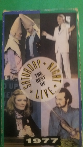vhs the best of saturday night live 1977  free shipping