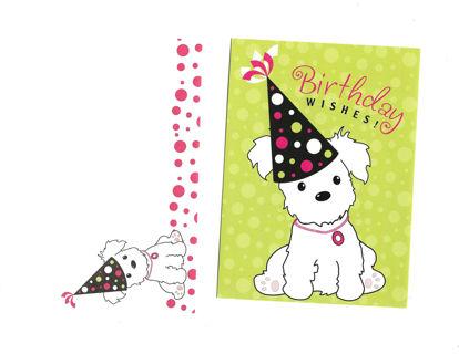 Birthday Card Unused With Envelope Cute Dog