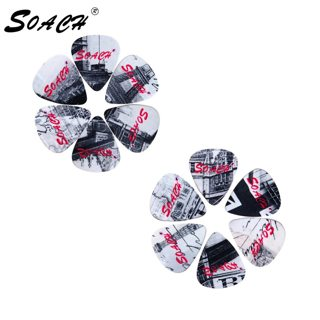 SOACH 10pcs 3 kinds of thickness new brand guitar picks bass British architecture pictures quality