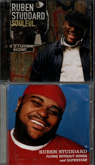 Pair of CDs by Ruben Studdard - Soulful and 2-Track EP