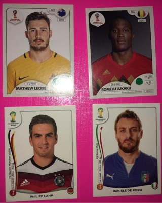 Lot of 4 Soccer Stickers