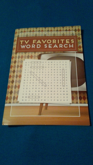 TV Favorites Word Search Book