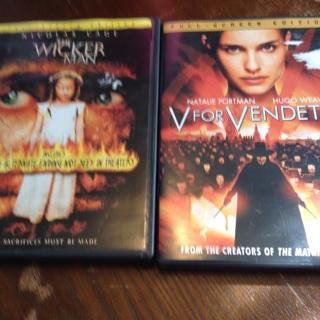 V for Vendetta and The Wickerman