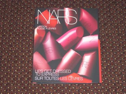 NEW SEALED Nars 12 Lipstick Sample Palette