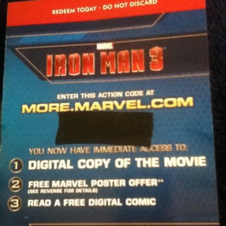 Iron Man 3 The Official Game Activate Bonus Code