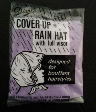 COVER UP RAIN HAT