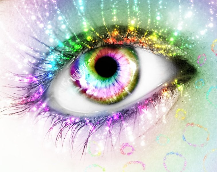 Free rainbow glitter eye wallpaper other cameras items auctions for free stuff - Eye drawing wallpaper ...