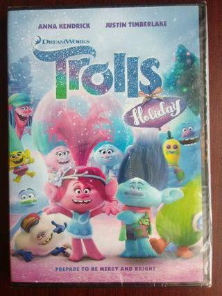 "BRAND NEW Dreamworks ""Trolls Holiday"" DVD **FREE SHIPPING**"