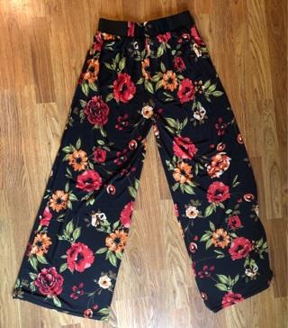 Stretch palazzo pants size 14 - 16