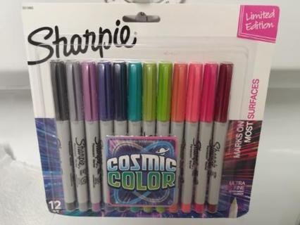 Brand New Sharpie Markers Cosmic Colors Limited Edition