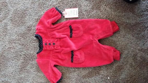 brand new Little girl Christmas outfit