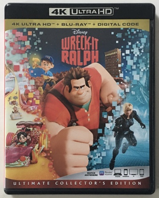 Disney Wreck-It Ralph - Movies Anywhere Digital HD Copy Code Only from 4K Ultra HD