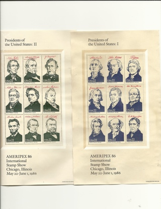 US Presidents 1-4