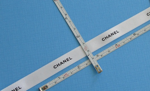 """72 INCHES (6 FEET) of AUTHENTIC """"CHANEL"""" DESIGNER RIBBON (NEW) !!! ~ FREE SHIPPING FROM CANADA !!!"""
