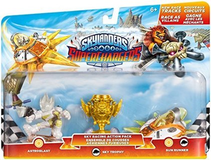 BRAND NEW Skylanders SuperChargers: Racing Sky Pack