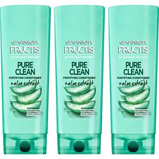 ☺~3 Pack' Garnier Hair Care Fructis Pure Clean Conditioner, 12 Fluid Ounce EACH ☺