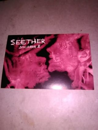 Seether Promo Postcard Sticker