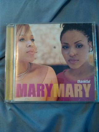 """""""THANKFUL -- MARY MARY -- EXCELLENT CONDITION -- NEW!!"""