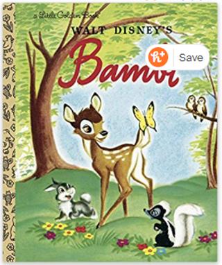 Bambi (Disney Classic) (Little Golden Book) Hardcover